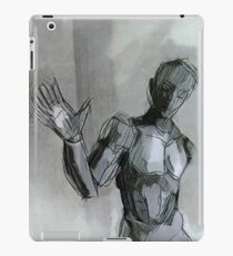 Even androids wave iPad Case/Skin
