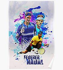 Federer-Nadal Poster