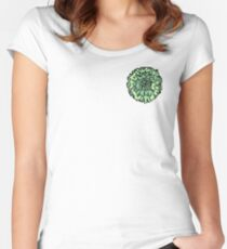 Green Carnation Women's Fitted Scoop T-Shirt
