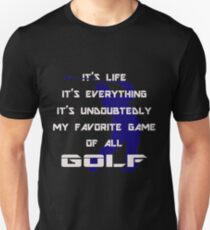 Golf Game, My Favorite Unisex T-Shirt