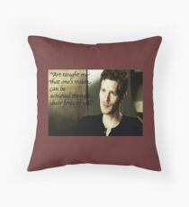 The Vampire Diaries Klaus Throw Pillow