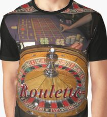 casino roulette wheel and table Graphic T-Shirt