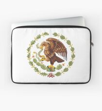 Mexican Eagle And Snake  Laptop Sleeve