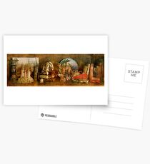 The Travelers Bookcase Postcards