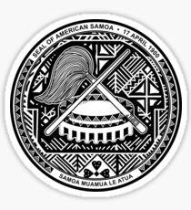 American Samoa Seal Sticker