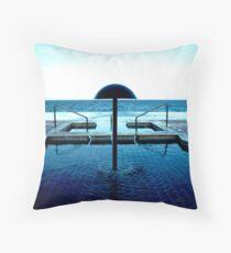 Pemba beach, Mozambique Throw Pillow