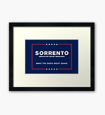 Sorrento: MOGA Framed Print