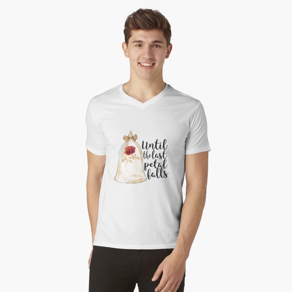 Until the last petal falls V-Neck T-Shirt