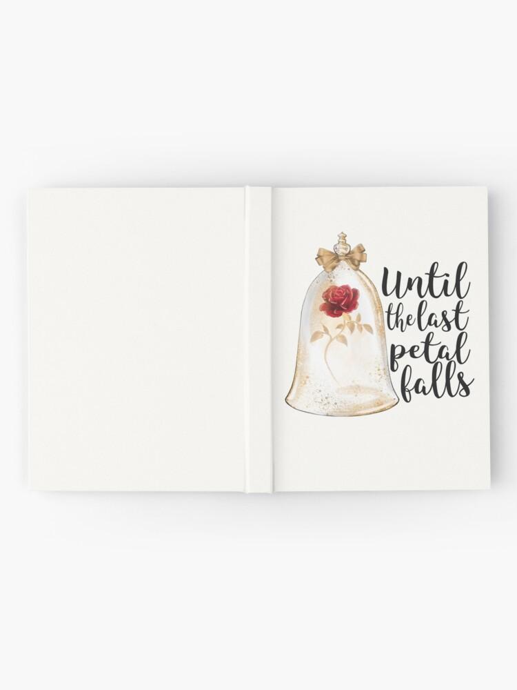Alternate view of Until the last petal falls Hardcover Journal