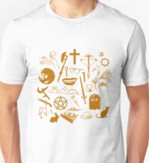 Buffy Symbology - Orange T-Shirt