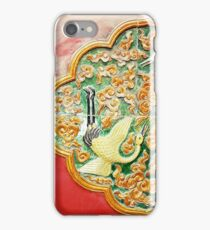 Forbidden city design - red yellow iPhone Case/Skin
