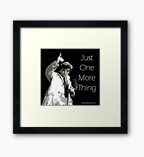 Lt. Columbo Framed Print