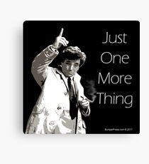 Lt. Columbo Canvas Print