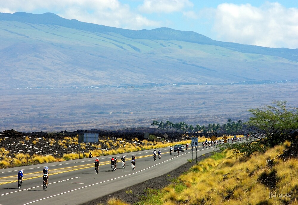 Long road ahead... Kona Ironman by jjshoots