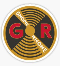 Gnome Rhone Motorcycles PROP Sticker