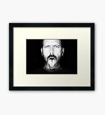 Dr. House Framed Print