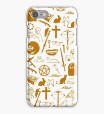 Buffy Symbology - Orange iPhone Case/Skin