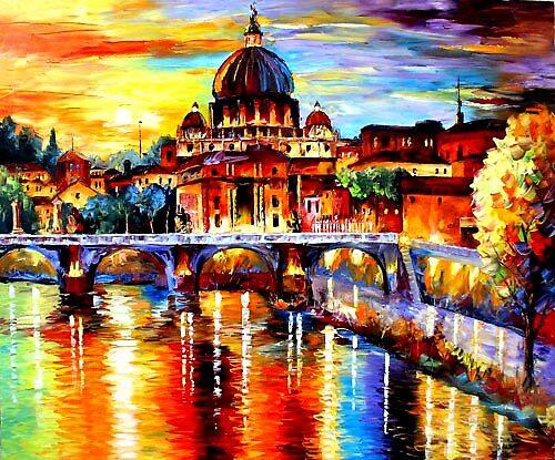Glorious Rome by Daniel Wall