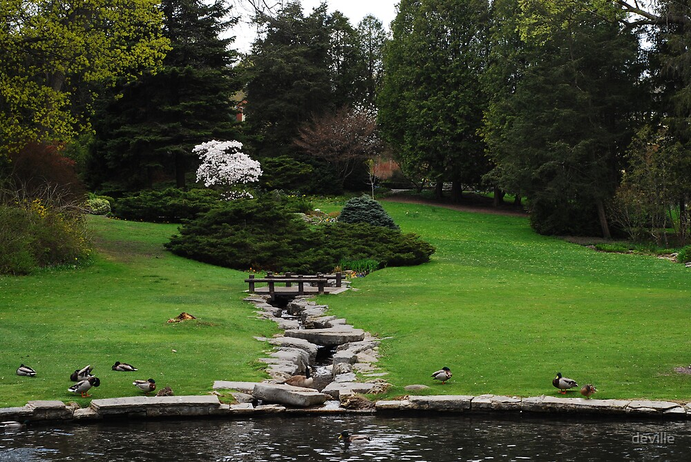 James Gardens  beauty in the heart of toronto by deville