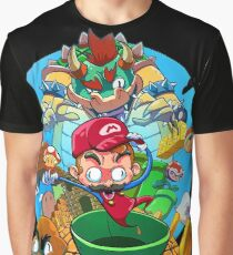 Mario and Friends x Enemy Graphic T-Shirt