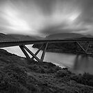 The Kylesku Bridge by derekbeattie