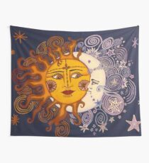 The Moon to my Sun Wall Tapestry