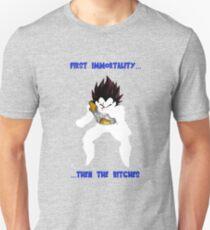 DBZ Abridged Vegeta Shirt Design Unisex T-Shirt