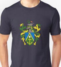 Pitcairn Islands Coat of Arms Unisex T-Shirt