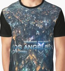 TIMELAX: IMMERSE YOURSELF LOS ANGELES CALIFORNIA Graphic T-Shirt