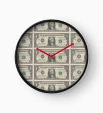 8bit greenback Clock