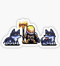 Saladin's Pack Pixel Art Sticker