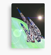 The Heavy Cruiser Exeter Canvas Print