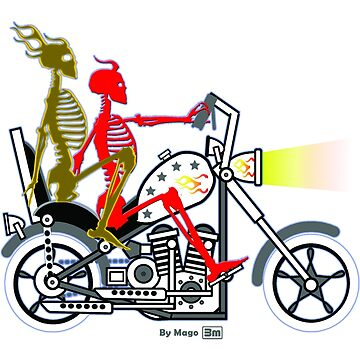 2 Riders (Limited Edition) by mago