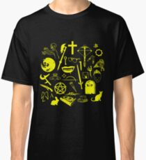 Buffy Symbology - Yellow Classic T-Shirt