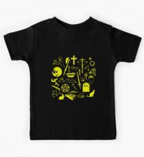 Buffy Symbology - Yellow Kids Clothes