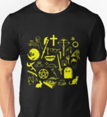 Buffy Symbology - Yellow T-Shirt