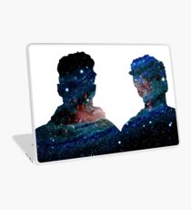 dolan twins galaxy  Laptop Skin