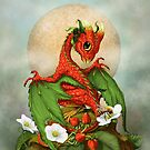 Fruit and berry dragons by Stanley Morrison