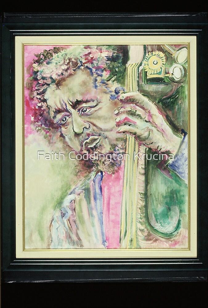 Charles Mingus/Piercing Eyes by Faith Coddington Krucina