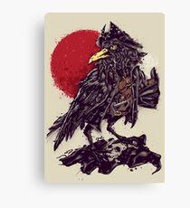 BlackBi(ea)rd Canvas Print