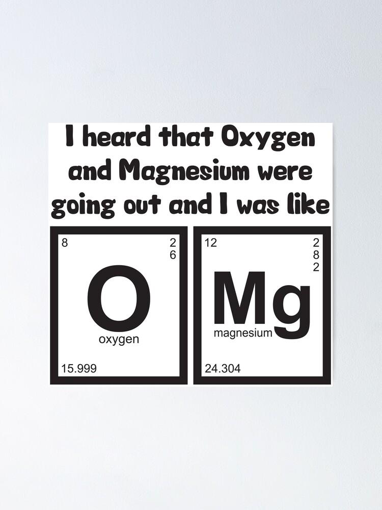 oksygen magnesium dating singel svart Dating tips