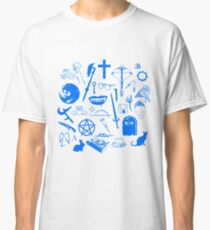 Buffy Symbology - Blue Classic T-Shirt