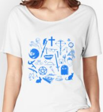 Buffy Symbology - Blue Women's Relaxed Fit T-Shirt