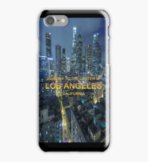 TIMELAX: JOURNEY TO THE CENTER OF LOS ANGELES CALIFORNIA iPhone Case/Skin