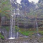 Russell Falls, Tasmania by Graeme  Hyde