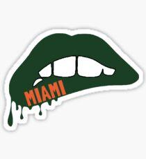 Miami Lips Sticker