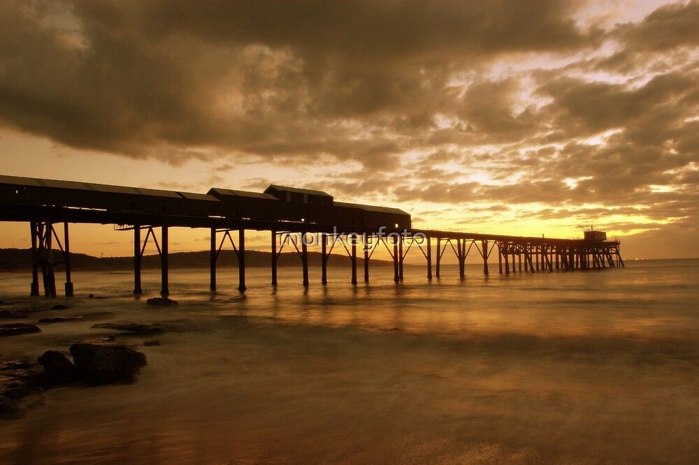 Catherine Hill Bay by monkeyfoto