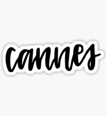 cannes Sticker