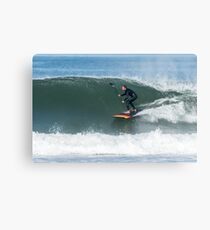 Stand up paddle surfer Canvas Print