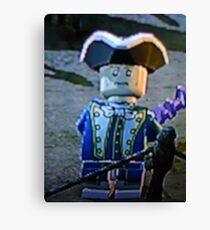 LEGO pirate Canvas Print